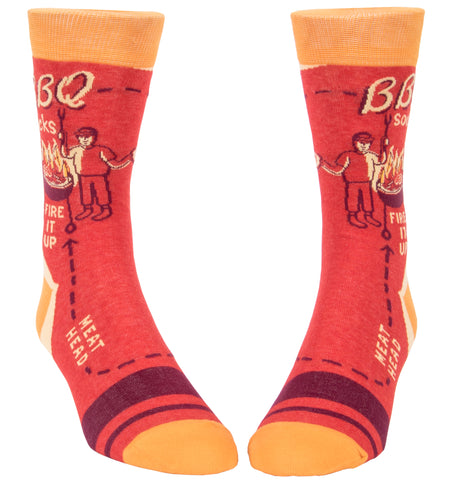 BBQ Men's Socks - National Comedy Center