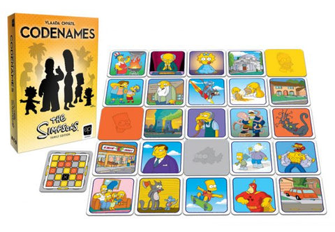 CODENAMES: The Simpsons Family Edition - National Comedy Center
