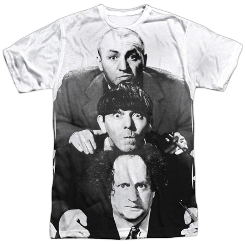 The Three Stooges: Three Stacked Shirt