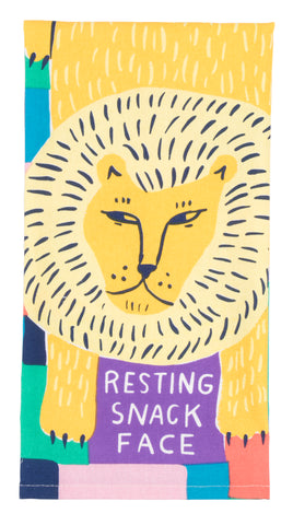 Resting Snack Face Dish Towel - National Comedy Center