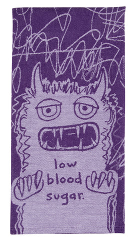 Low Blood Sugar Dish Towel - National Comedy Center