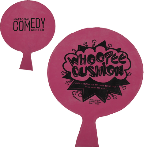 National Comedy Center Logo Whoopee Cushion - National Comedy Center