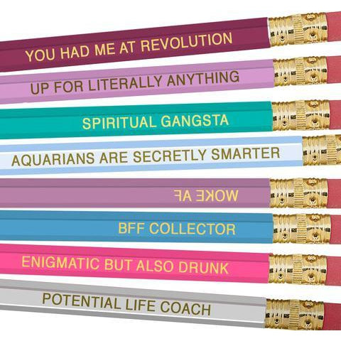 Aquarius Pencils - National Comedy Center