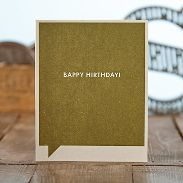 Bappy Hirthday Card - National Comedy Center