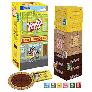 Bob's Burgers Jenga - National Comedy Center