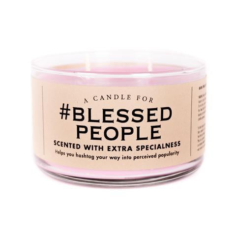 Blessed People Candle - National Comedy Center