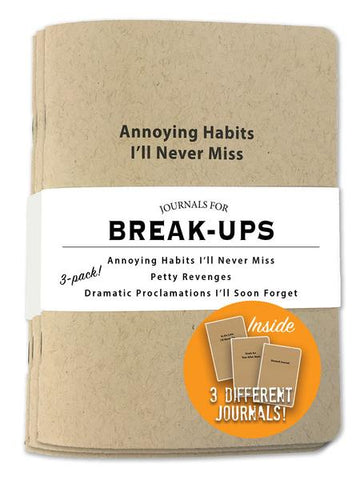 Journals for Break-Ups - National Comedy Center