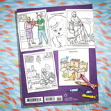 Crazy Cat Lady Coloring Book - National Comedy Center