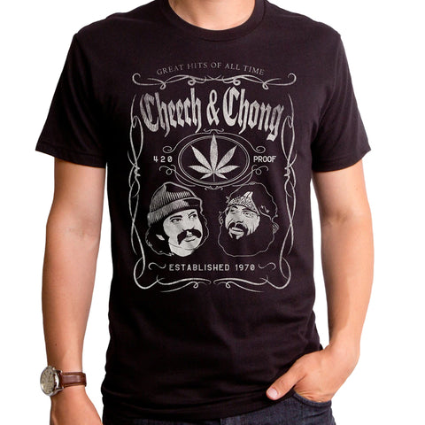Cheech & Chong: 420 Proof Whiskey Shirt - National Comedy Center
