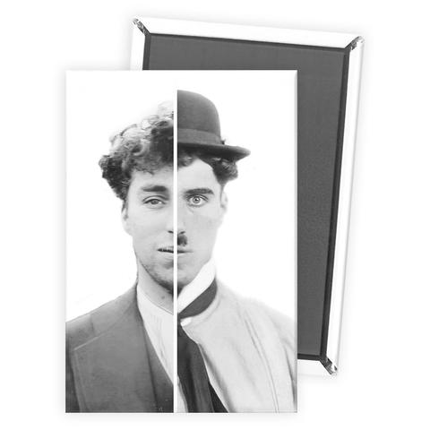Charlie Chaplin Cinematic Icon Magnet - National Comedy Center