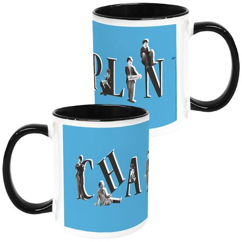 Charlie Chaplin Blue Coloured Insert Mug