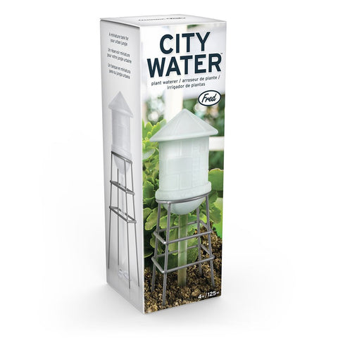 City Water Glass Plant Self-Waterer