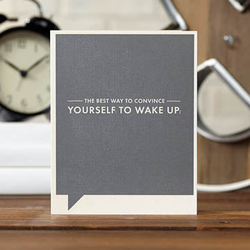 Convince Yourself Card