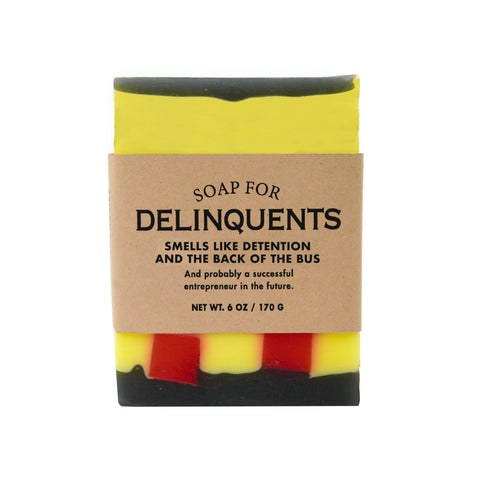 Delinquents Soap - National Comedy Center