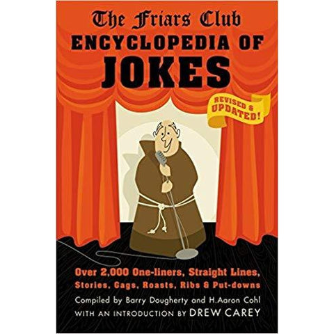 Friars Club Encyclopedia of Jokes Book - National Comedy Center