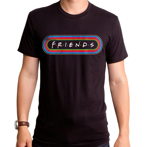 Friends: Radio Sticker T-Shirt - National Comedy Center