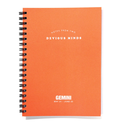 Astrology Journal - Gemini - National Comedy Center