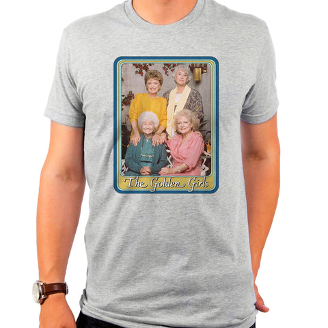 The Golden Girls: Vintage Square T-Shirt - National Comedy Center