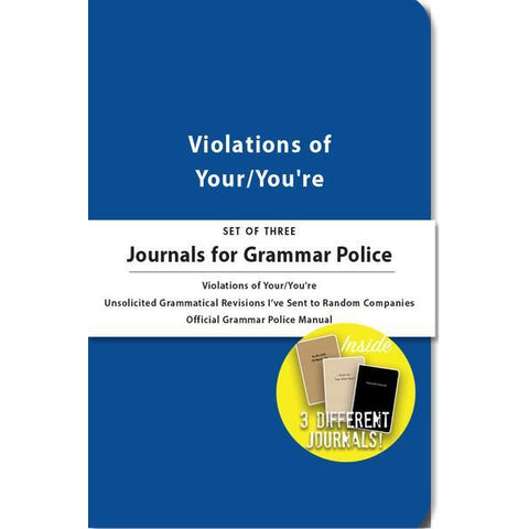 Journals for Grammar Police - National Comedy Center