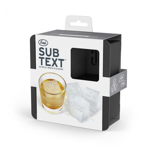Sub-Text Ice Mold