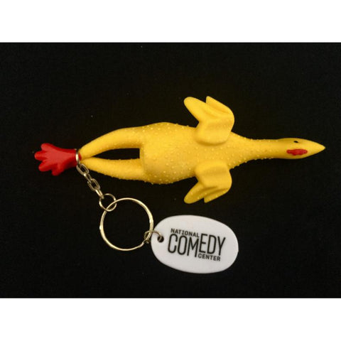 NCC Rubber Chicken Keychain