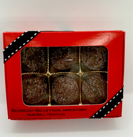 Lone Palm Cookie Schweddy Balls 6CT - National Comedy Center