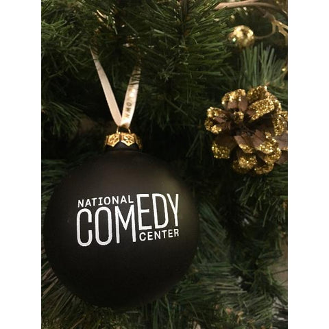 NCC Logo Ornament Black & White - National Comedy Center