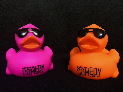 NCC Rubber Duck with Sunglasses - National Comedy Center