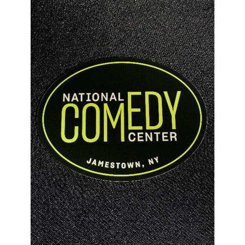 NCC Logo Oval Magnet - National Comedy Center
