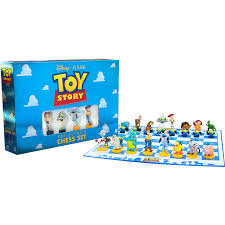 Toy Story Collector's Chess Set - National Comedy Center