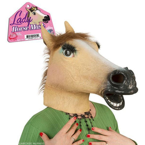 Lady Horse Mask - National Comedy Center