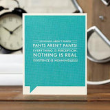 Leggings Aren't Pants Card