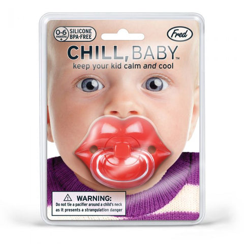 CHILL, BABY Lips Pacifier