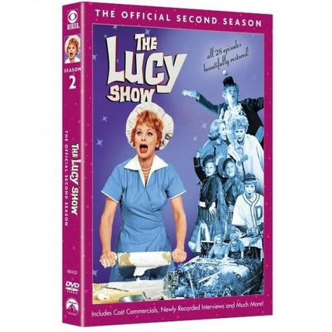 The Lucy Show: The Official Second Season DVD - National Comedy Center