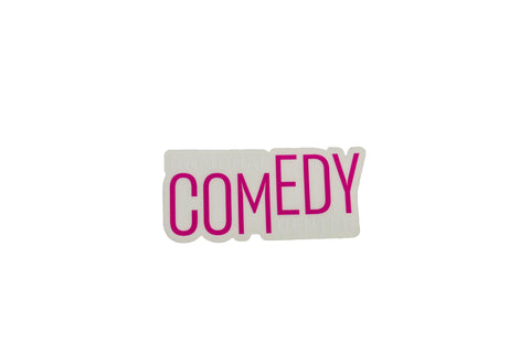 National Comedy Center Die Cut Sticker - National Comedy Center