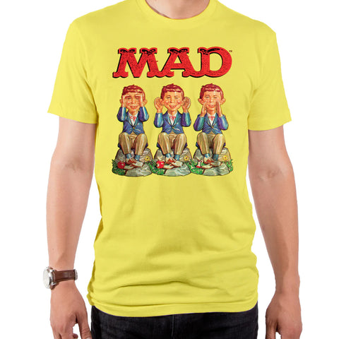 Mad Magazine: See, Hear, and Speak Evil T-shirt - National Comedy Center