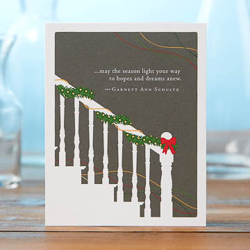 May the Season Light Your Way Card - National Comedy Center