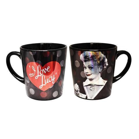 Black & Red Metallic Lucy Mug - National Comedy Center
