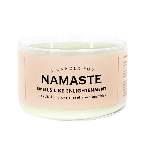 Namaste Candle - National Comedy Center