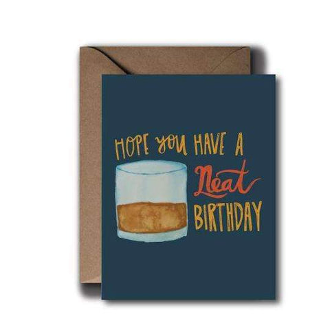 Neat Cocktail Card