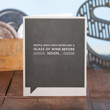 Never Had a Glass Card - The Comedy Shop