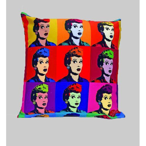 Lucy Pop Art Pillow - National Comedy Center
