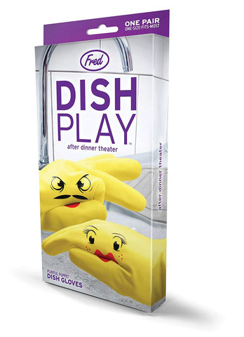 DISHPLAY Hand Puppet Dish Gloves