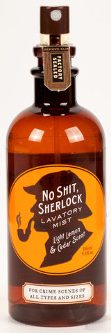 No S*** Sherlock Lavatory Mist - National Comedy Center