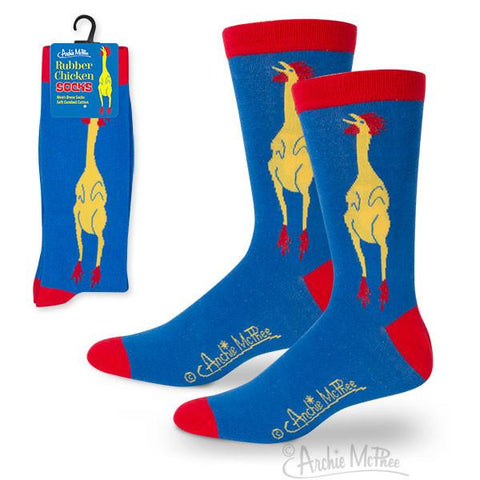 Rubber Chicken Socks - National Comedy Center