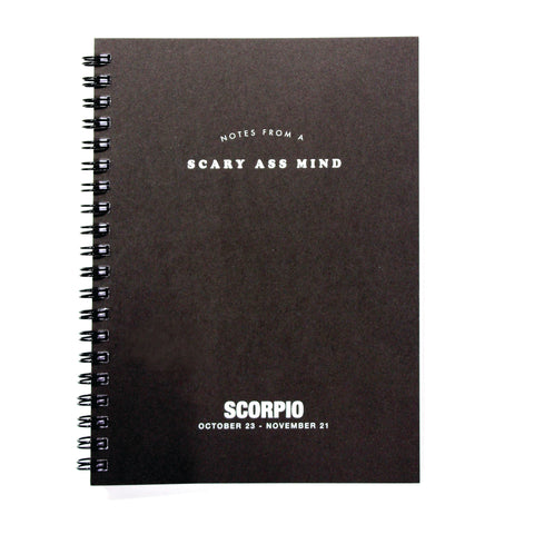 Astrology Journal - Scorpio - National Comedy Center