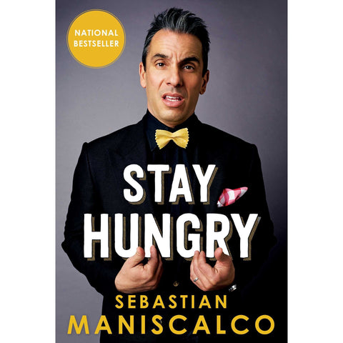Stay Hungry Book - National Comedy Center
