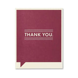 Thank you Again Card - National Comedy Center
