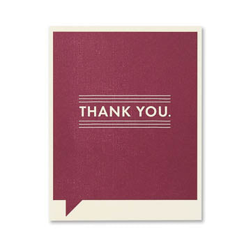 Thank you Again Card - The Comedy Shop
