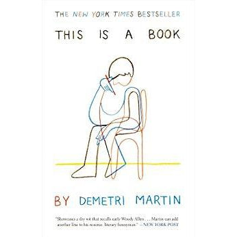 This is a Book by Demetri Martin - The Comedy Shop